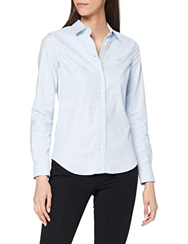 """GANT Damen Bluse Stretch Oxford Solid Shirt Blau (Light Blue 455), 40"" von GANT"