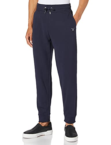 GANT Herren ORIGINAL Sweat Pants, Evening Blue, L von GANT