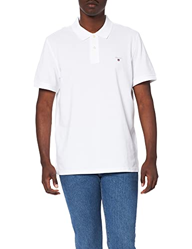 Gant - 2201 - Polo - Homme - Blanc - FR: X-Large (Taille fabricant: X-Large) von GANT