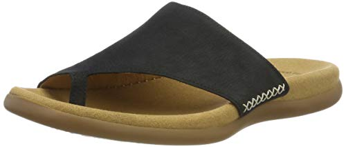 Pantoletten 16 Gabor 700 Blau Damen 03 44 Nightblue Shoes AU6Zp