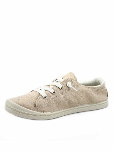 Soda Zig-s Damen Causal Flacher Absatz Slip On Lace Up Look Sneaker Schuhe, (taupe), 42 EU von Generic