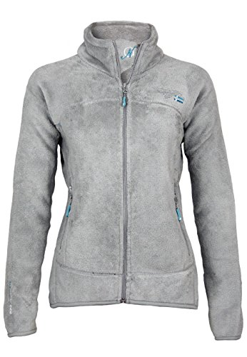 Geographical Norway Damen Weste UNIFLORE Lady, Grau (L.Grey), Small (Size:1) von Geographical Norway