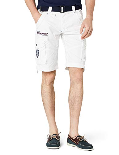 Geographical Norway Herren Sportshorts Poudre  Assort A,per pack Weiß (WHITE), L von Geographical Norway