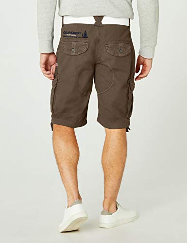 """Geographical Norway Herren Sportshorts Poudre Men Assort A, Grün (Dark Grey), XL"" von Geographical Norway"