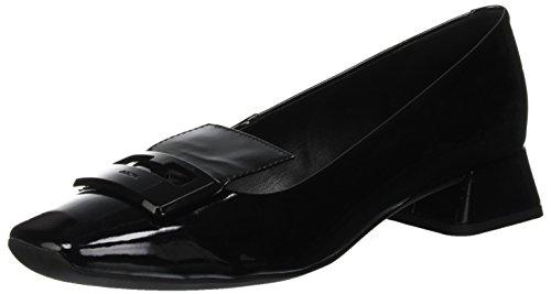 Black Schwarz C9999 A Damen D Vivyanne Geox EU Geschlossene Ballerina 35 Ballerinas 08qA4zRw