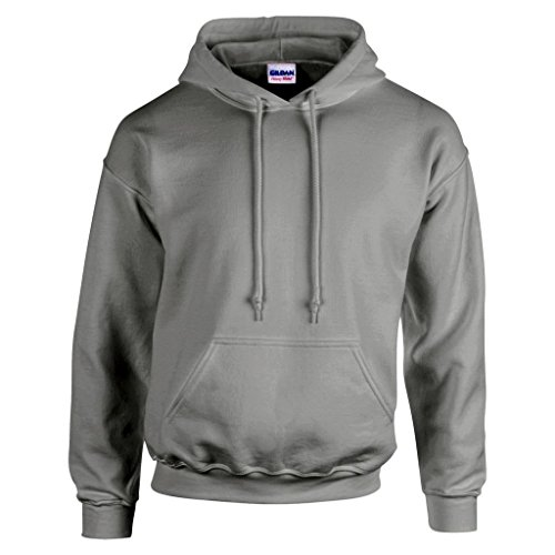 "Gildan GD057 Kapuzen-Sweatshirt ""Heavy Blend"" Gr. Medium, Grau - Sport Grey von Gildan"