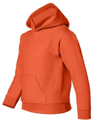 "Gildan Sweatshirt mit Kapuze ""Heavy Blend"" Gr. L, Orange von Gildan"