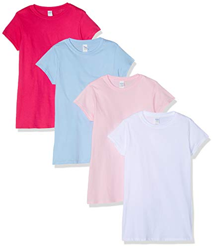 Gildan Womens Softstyle T-Shirt 4-Pack von Gildan