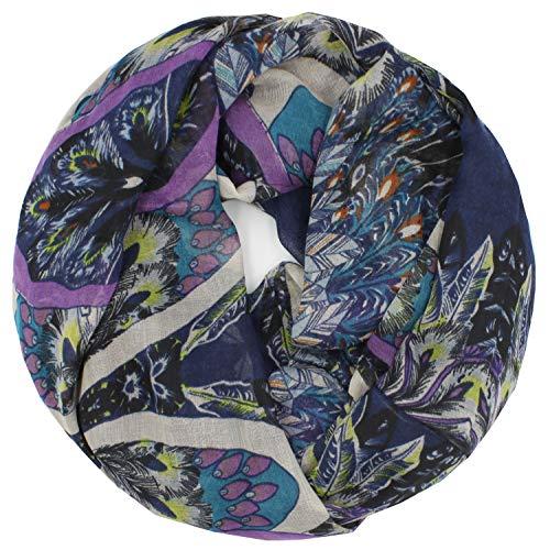 Gloop schal leichter Langschal Schlauchschal Hals-Tuch Viele Farben und Modelle
