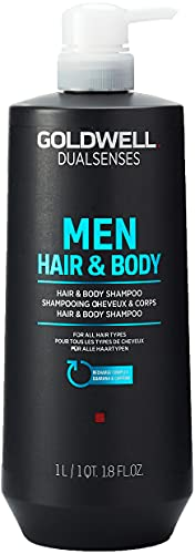 Goldwell Dualsenses Men Hair & Body Shampoo, 1 l von Goldwell
