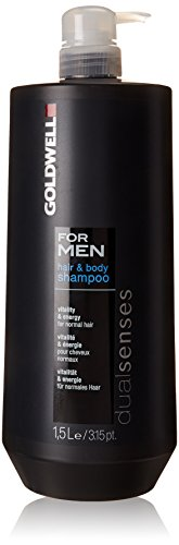 Goldwell Dualsenses for Men Hair und Body Shampoo, 1er Pack, (1x 1500 ml) von Goldwell