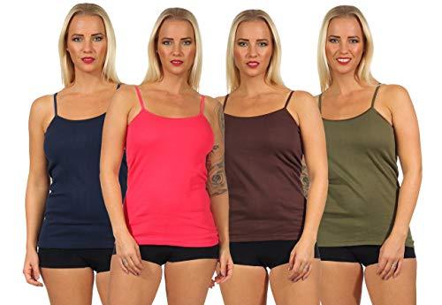 2 x Damenunterhemd Unterhemd Unterwäsche  Vollachsel weiß Übergröße Gr.60//62 Neu