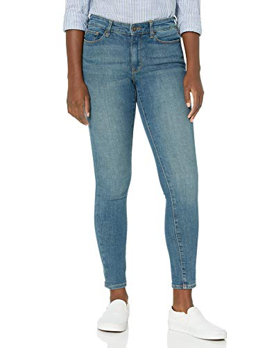 Goodthreads High-Rise Skinny Jeans, Capitol Hill, 28 Regular von Goodthreads