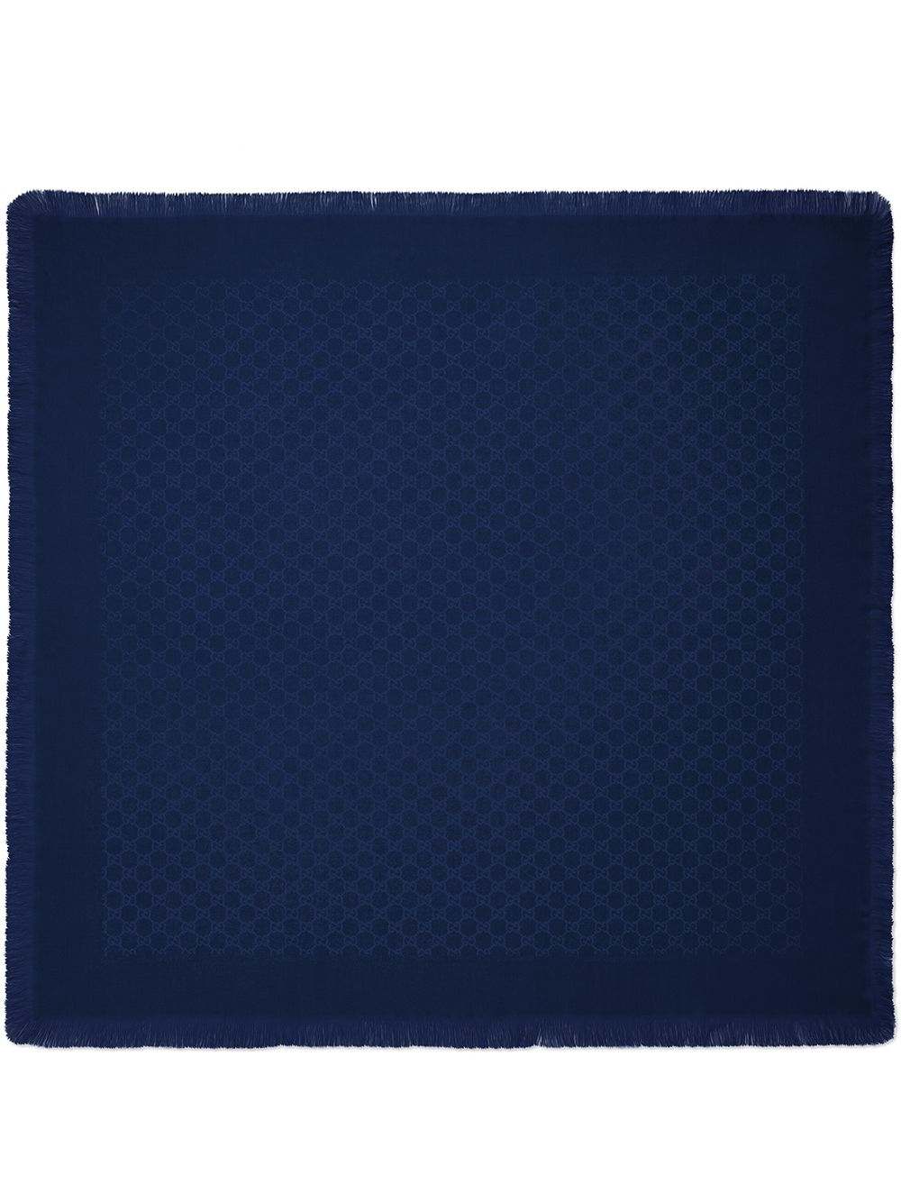 Gucci Kids Children's GG wool silk shawl - Blau von Gucci Kids