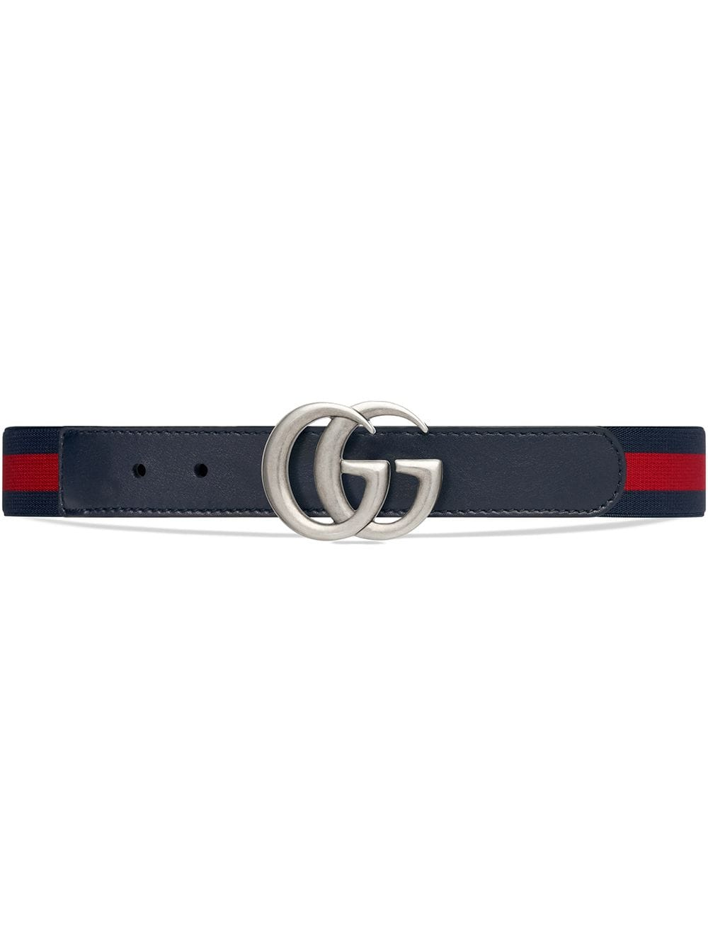 Gucci Kids Children's elastic Web belt - Blau von Gucci Kids