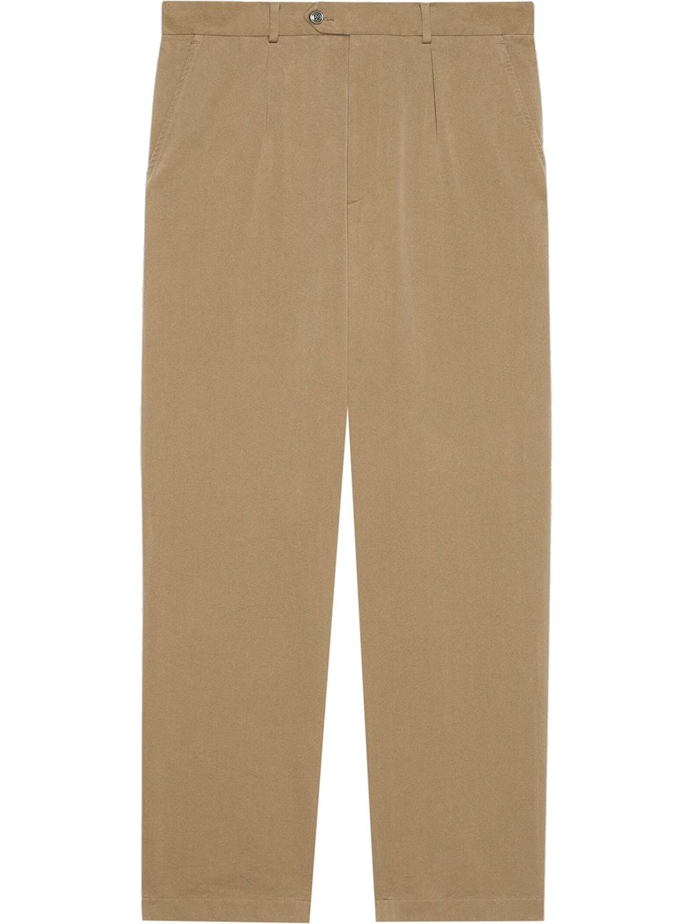 Gucci high-waist tailored trousers - Nude von Gucci