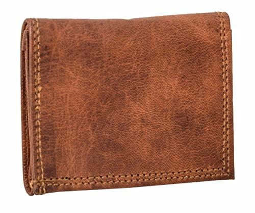 31b3c065d8dd7 Geldbörse Gusti Leder Nature Arjen Portmonee Portemonnaie Brieftasche  Geldbörse Münzbörse Damen Herren Braun A144 von Gusti