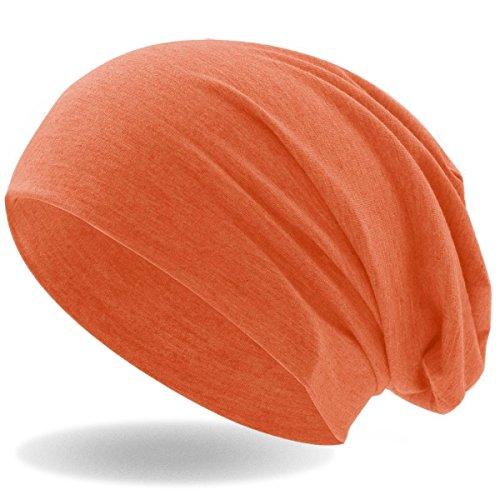 4bd14b75c74ac6 Hatstar Klassische Jersey Slouch Long Beanie Mütze, leicht und weich,  Reversible Bicolor für Damen