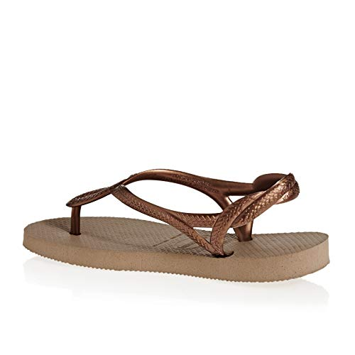 Havaianas Slim Animals fluo, Damen Zehentrenner, Pink 3581, 43/44 EU (41/42 Brazilian)