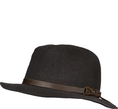 Herman Hut Mac Soft Vintage/brown von Herman
