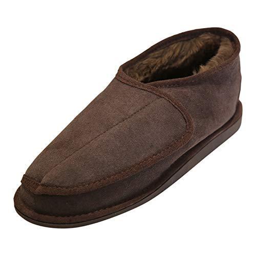Hollert German Leather Fashion Lammfell Hausschuhe - SIMSY Schuhgröße EUR 36