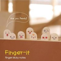Finger Mini Sticky Notes von Homey House