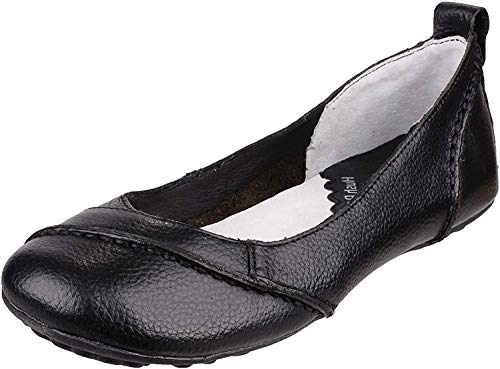 Hush Puppies Damen Janessa Geschlossene Ballerinas, Schwarz (Black), 41 EU (7 UK) von Hush Puppies