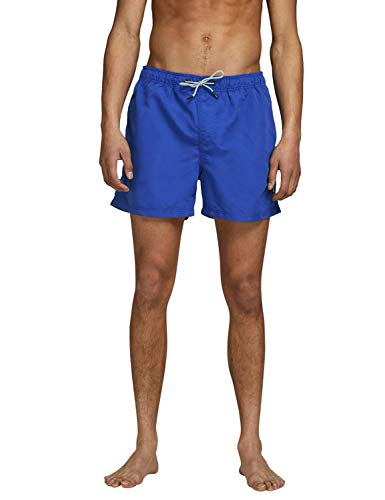 JACK & JONES Herren Jjiaruba Jjswim Shorts Akm Sts Badehose, Surf The Web, S EU von JACK & JONES