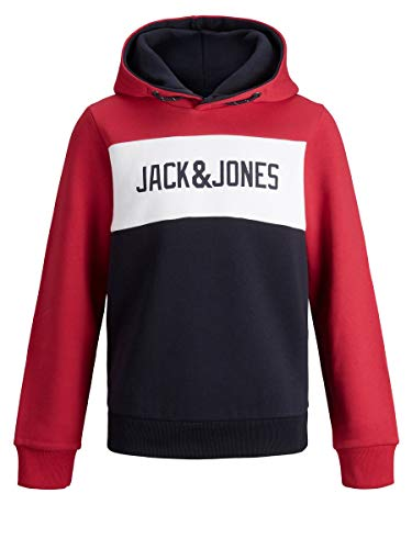 JACK & JONES Boy Hoodie Jungs Logo Sweat 164Tango Red von JACK & JONES