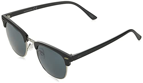 JACK & JONES Herren JACRYDER SUNGLASSES NOOS Sonnenbrille, Jet Black/Detail:J5464-00, ONE SIZE von JACK & JONES