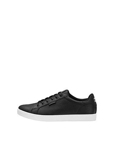 JACK & JONES Male Sneaker Kunstleder 45Anthracite von JACK & JONES