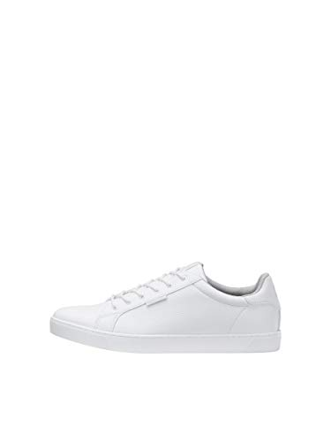 JACK & JONES Male Sneaker Kunstleder 44Bright White von JACK & JONES