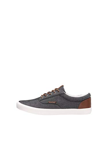 JACK & JONES Male Sneaker Canvas 41Anthracite von JACK & JONES