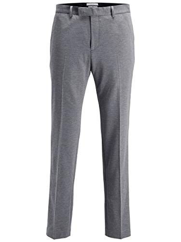 JACK & JONES Herren JPRSTEVEN Trouser STS Anzughose, Grau (Light Grey Melange), 56 von JACK & JONES
