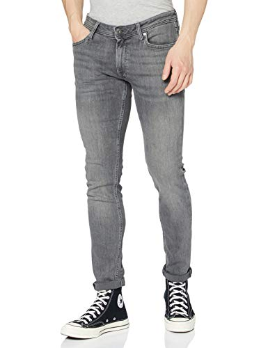 JACK & JONES Herren Skinny Fit Jeans Liam ORIGINAL AM 010 3334Grey Denim von JACK & JONES
