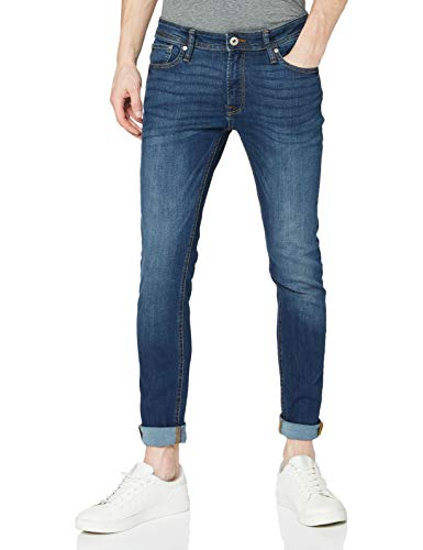 JACK & JONES Herren Skinny Fit Jeans Liam ORIGINAL AM 014 3132Blue Denim von JACK & JONES