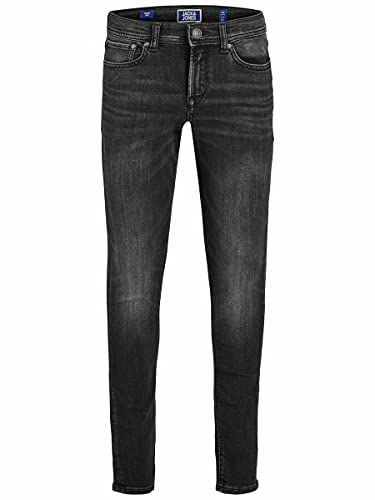 JACK & JONES Boy Skinny Fit Jeans Boys 146Black Denim von JACK & JONES