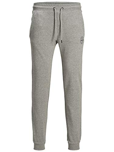 JACK & JONES Male Sweathose Gordon Slight Grey Melange von JACK & JONES