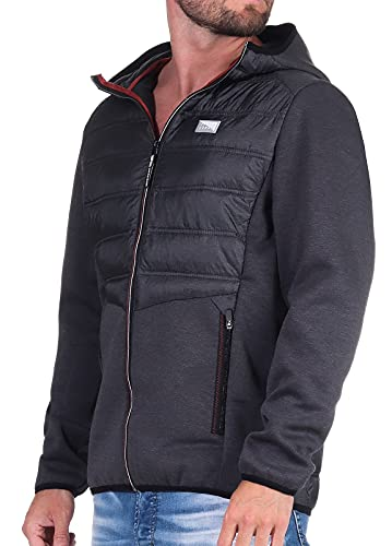 Jack & Jones Mens JCOTOBY HYBRID Jacket NOOS Jacke, Black, S von JACK & JONES