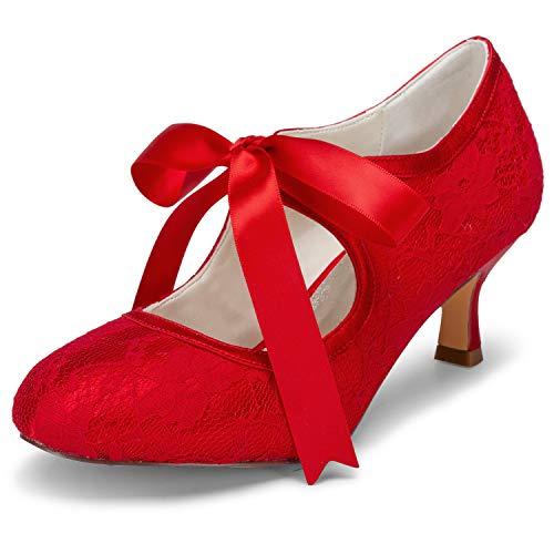 58f34dd3f8efe Brautschuhe in Rot für Frauen. Damenmode in Rot bei fashn.de