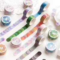 Printed Circle Masking Tape von JIMO