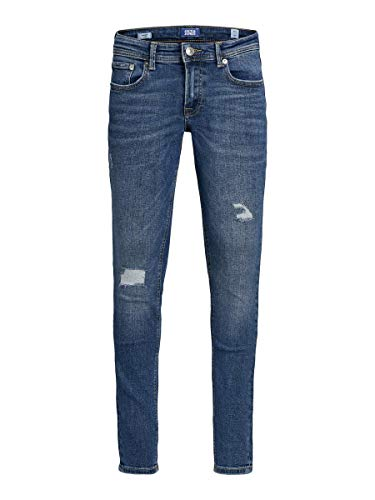 JACK & JONES Boy Skinny Fit Jeans Jungs 140Blue Denim von JACK & JONES