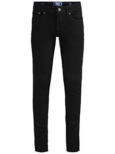 JACK & JONES Herren Skinny Fit Jeans Boys 128Black Denim von JACK & JONES