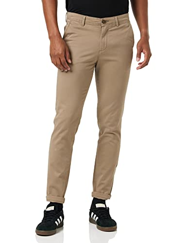 JACK & JONES Male Slim Fit Chino Marco JJBOWIE 3432Beige von JACK & JONES