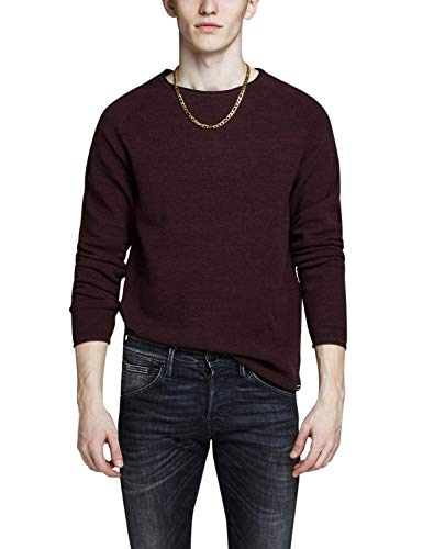 JACK & JONES Male Strickpullover Struktur MPort Royale von JACK & JONES