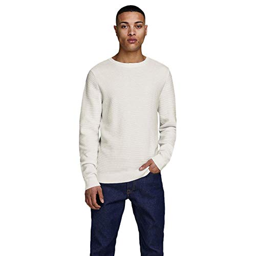 JACK & JONES Male Strickpullover Schlichter MJet Stream von JACK & JONES
