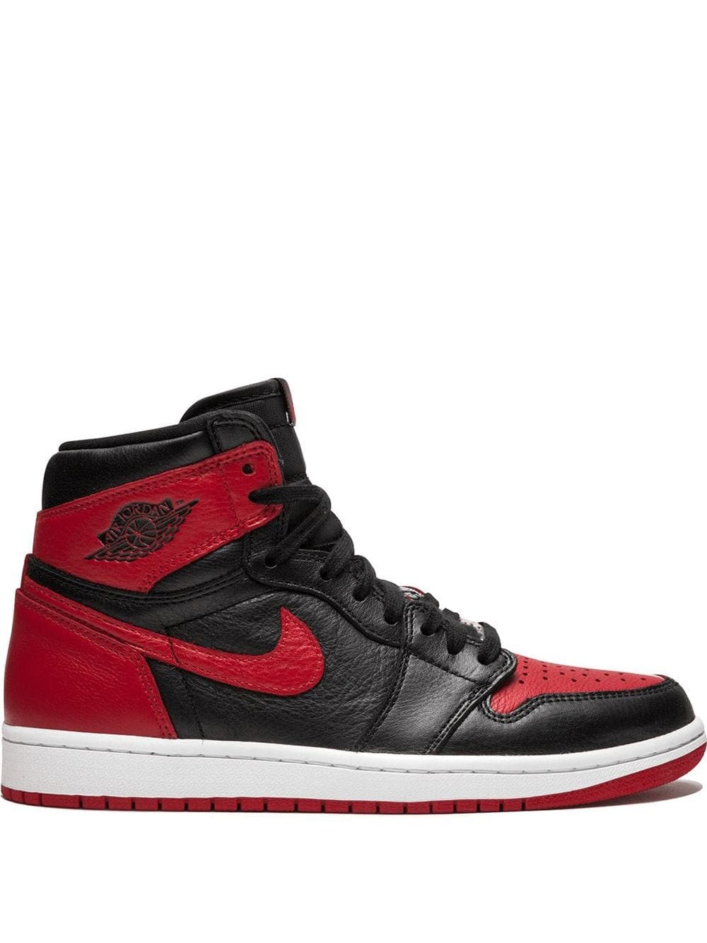 best service e6fa1 5c29d Jordan  Air Jordan 1 Retro OG  High-Top-Sneakers - Rot von