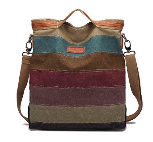 Damen Tasche Neue Student Tasche Wilde Umhängetasche,Red-OneSize ADEFG