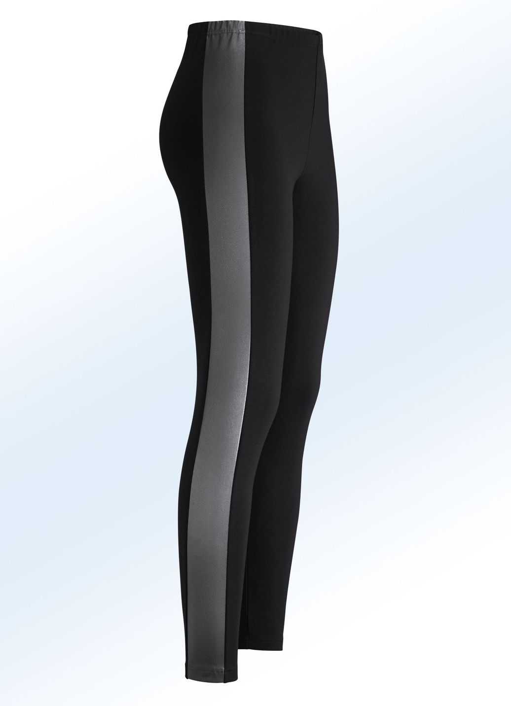 Leggings im Materialmix Schwarz Größe 80 Damen von KLAUS MODELLE MADE IN GERMANY