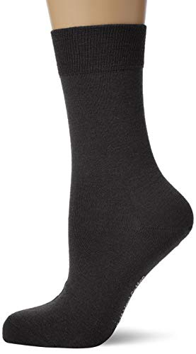 KUNERT Damen Soft Wool Cotton Socken, Schwarz (BLACK 0070), 35/38 von Kunert